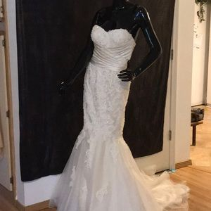 Sincerely bridal mermaid gown